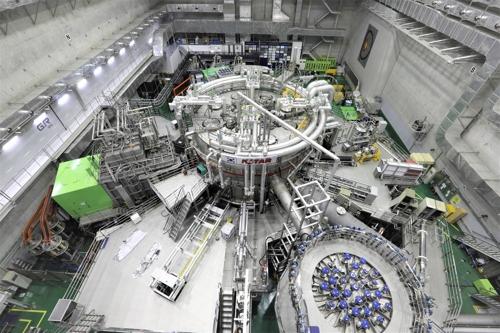 한국 인공태양 'KSTAR' 모습 / [국가핵융합연구소 제공]