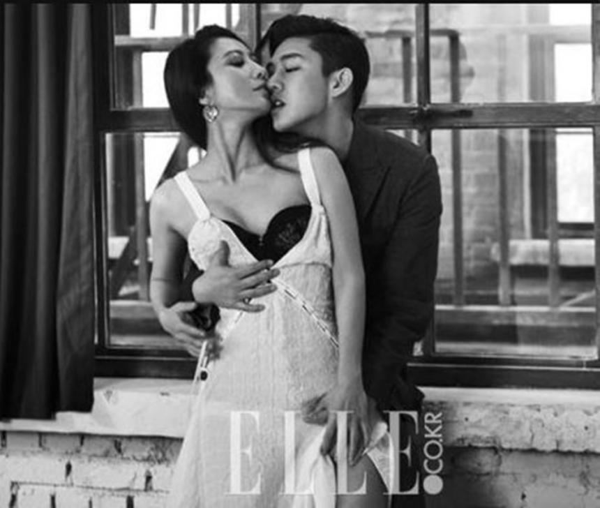 김희애-유아인 / 엘르