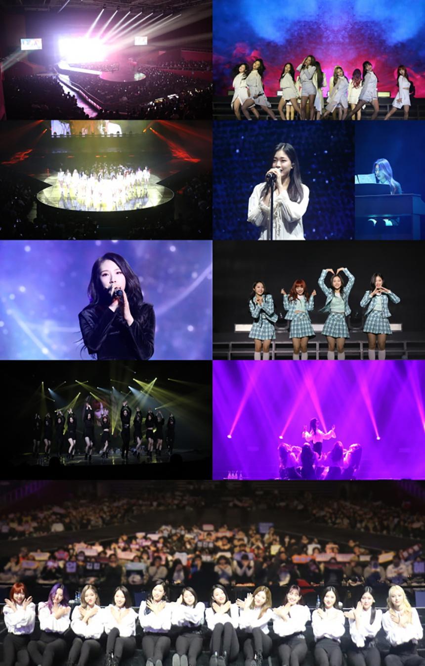 이달의 소녀 콘서트 현장 / 블록베리크리에이티브