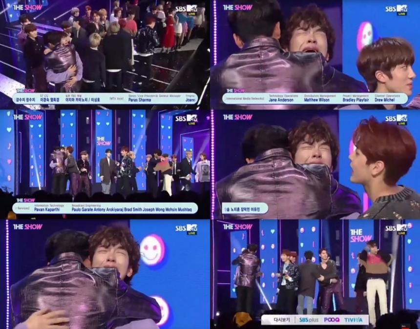 SBS MTV '더쇼' 방송 캡처