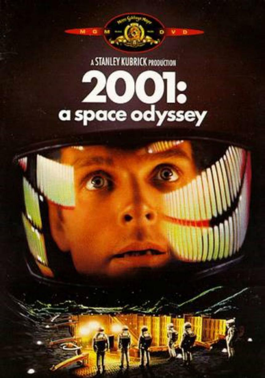 '2001 : 스페이스 오디세이' 포스터 / 네이버영화