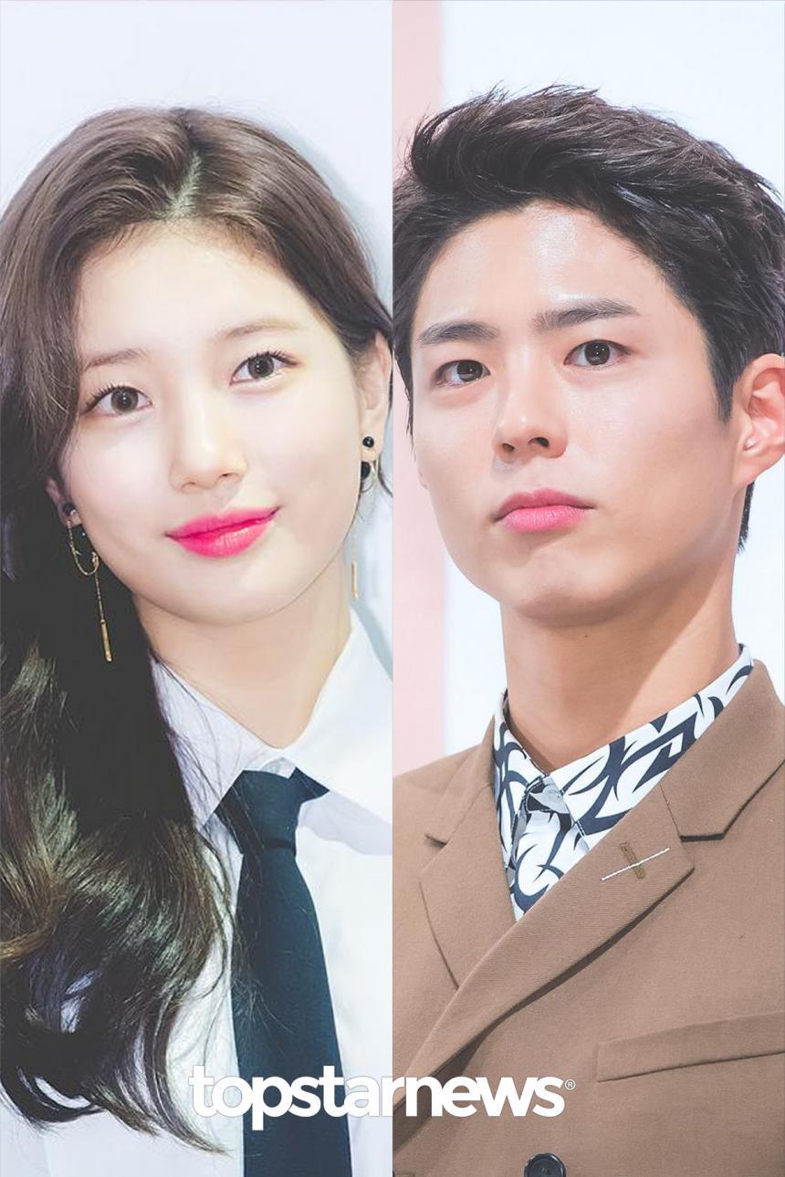 수지♥박보검 / 톱스타뉴스 HD포토뱅크