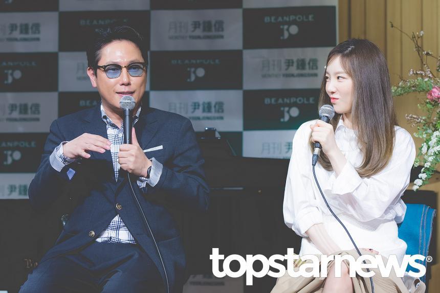 윤종신-소녀시대(SNSD) 태연 / 서울, 최규석 기자