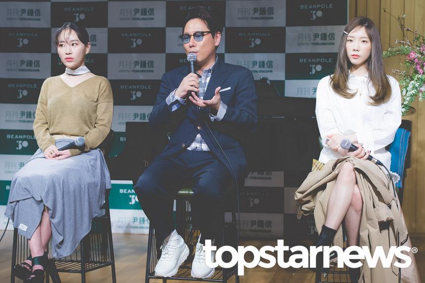 조현아-윤종신-소녀시대(SNSD) 태연 / 서울, 최규석 기자