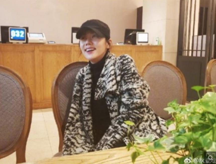 추자현 근황 / 추자현 웨이보