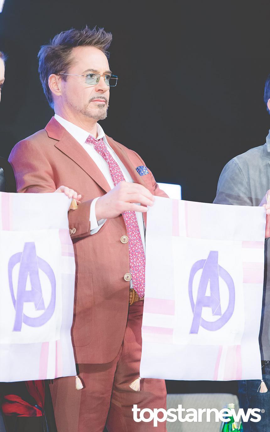 로버트 다우니 주니어(Robert Downey Jr.) / 서울, 최규석 기자