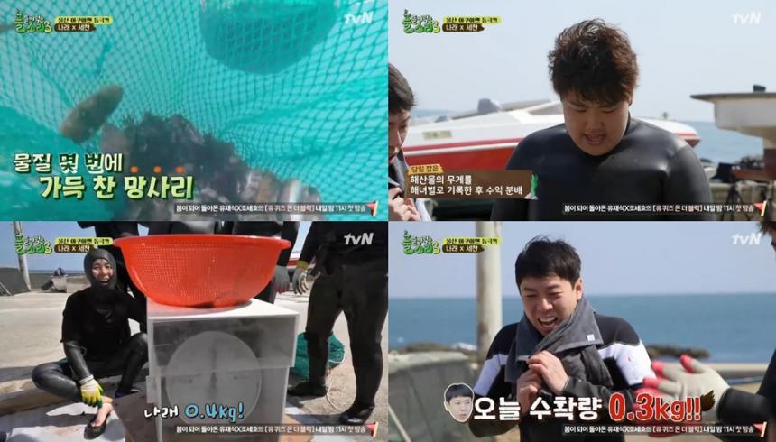 tvN '풀 뜯어먹는 소리3-대농원정대' 방송 캡처