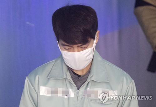 11일 오전 1심 선고공판에 출석하는 손승원 / 연합뉴스