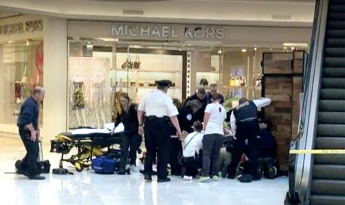 미국 미네소타 '몰 오브 아메리카' 사고 현장 [CNN 화면 캡처]