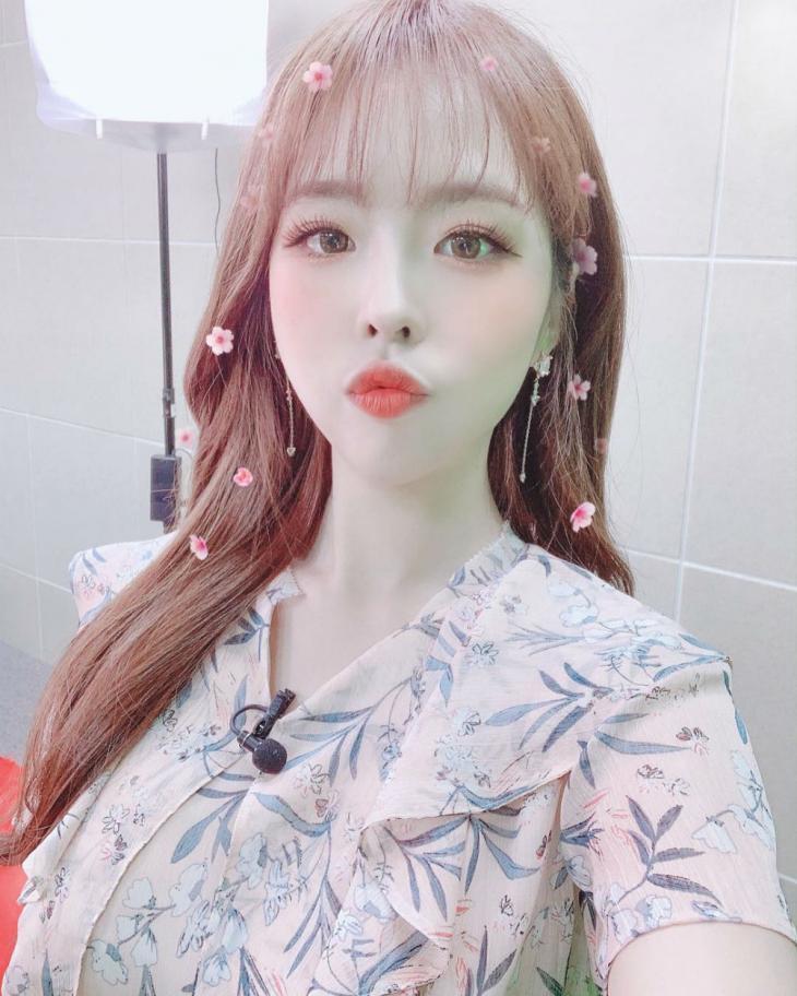 김해나 아나운서 인스타그램