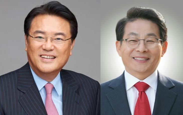자유한국당 정진석 의원-차명진 전 의원 페이스북