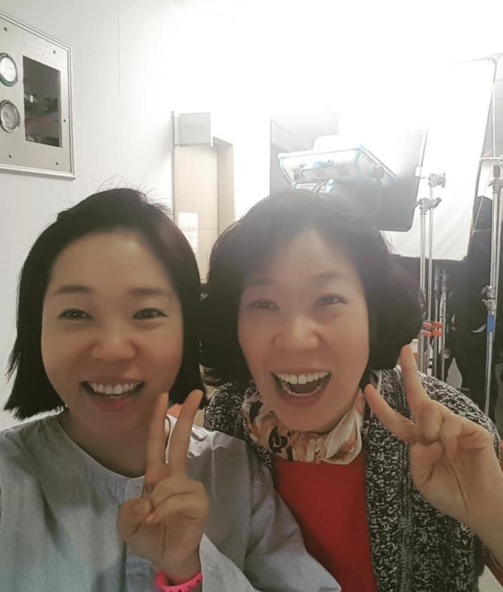 정이랑-염혜란 / 정이랑 인스타그램