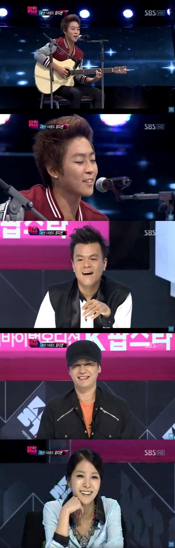 'K팝스타 1' 방송화면 캡처