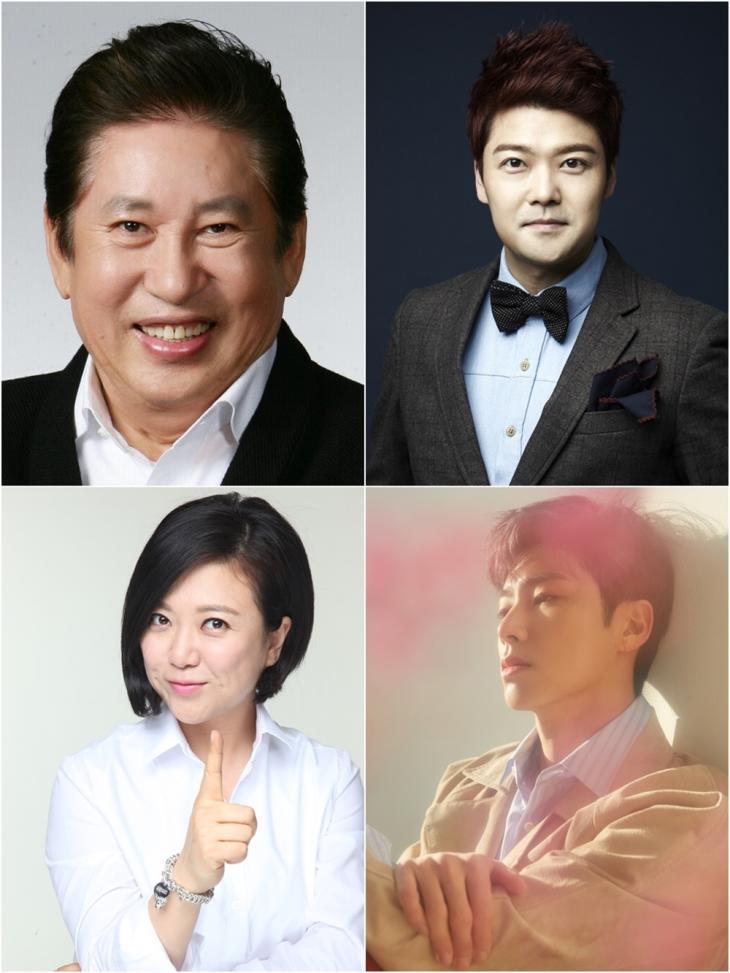 김용건-전현무-김숙-유노윤호 / SM C&C, 아이오케이컴퍼니, SM엔터테인먼트