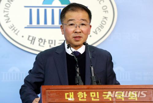 김형구 민주평화당 부대변인 / 뉴시스
