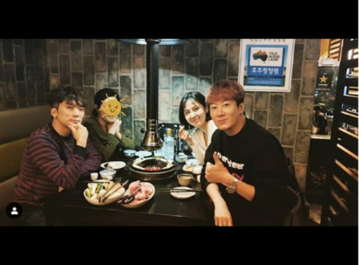 김신의-허규-신동미 / 허규 인스타그램