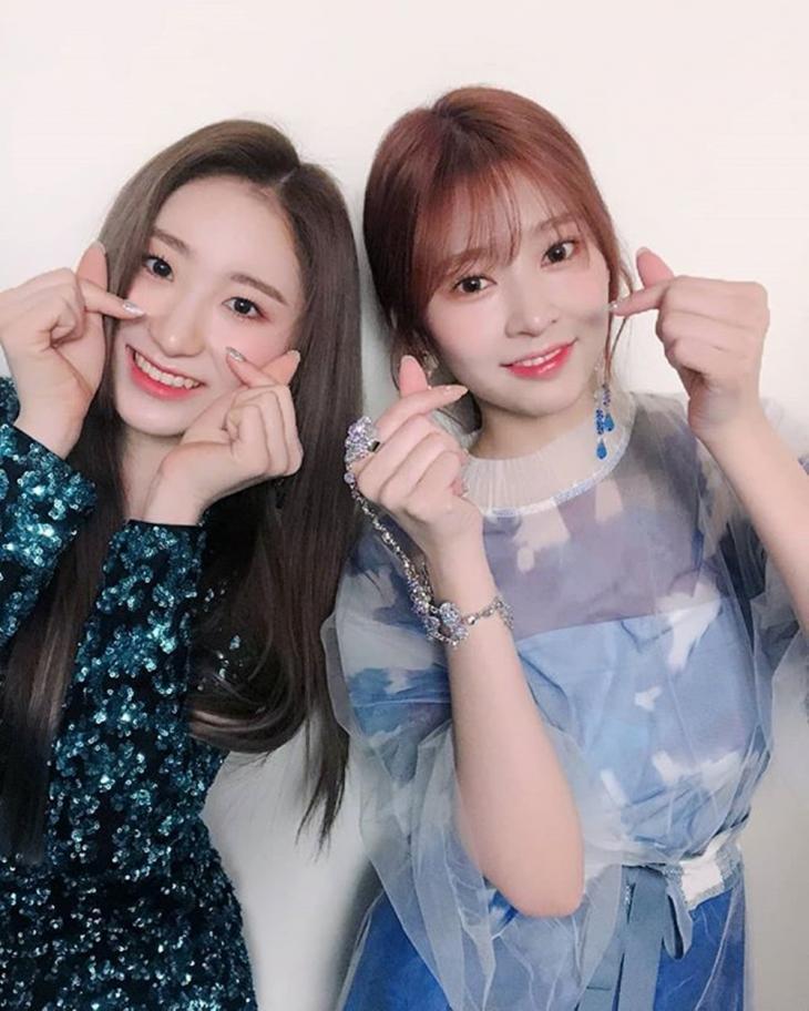 아이즈원 공식 인스타그램