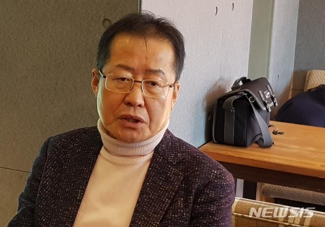홍준표 자유한국당 전 대표 / 뉴시스