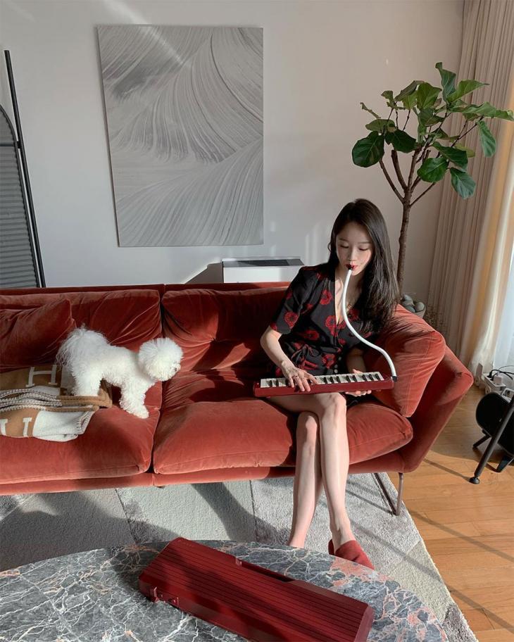 다비치(Davichi) 강민경 인스타그램