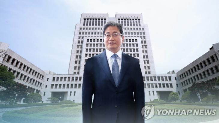 김명수 대법원장, 징계는 늑장•수사협조 미온…법원 의지 어디로 (CG) [연합뉴스TV 제공]