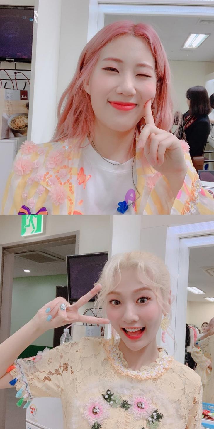 우지윤-안지영 / 볼빨간사춘기 공식 인스타그램