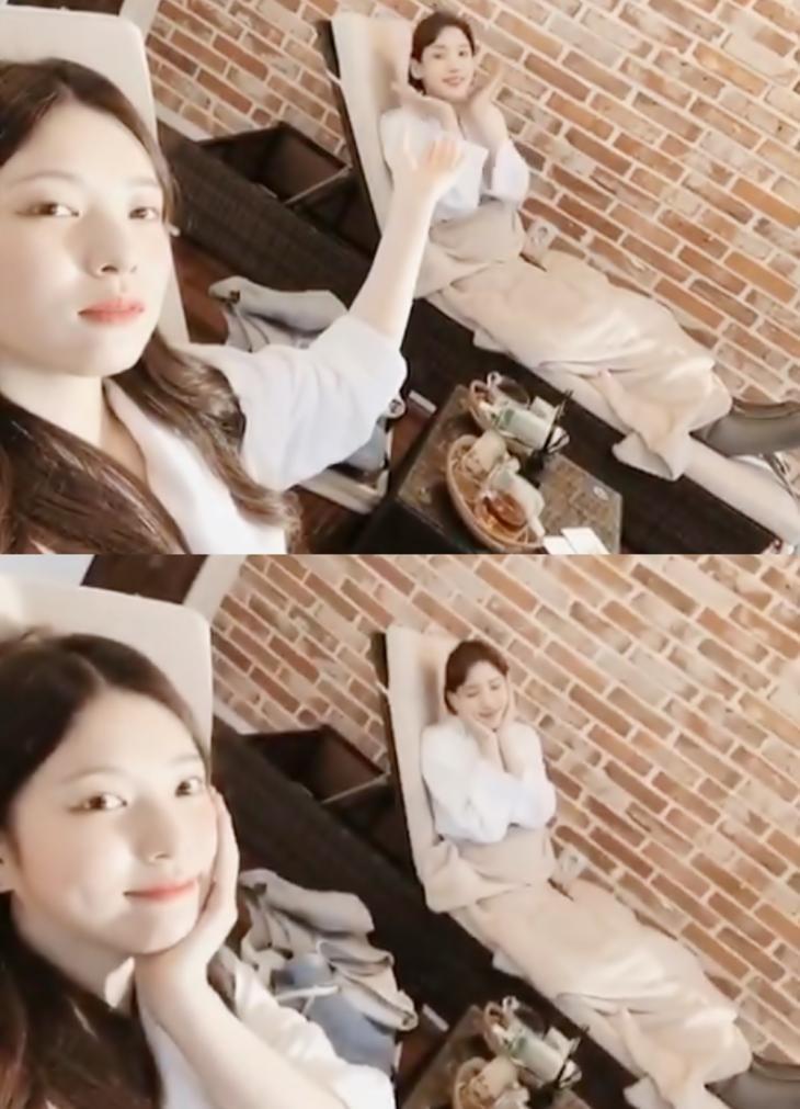 이해인-홍서영 / 홍서영 인스타그램