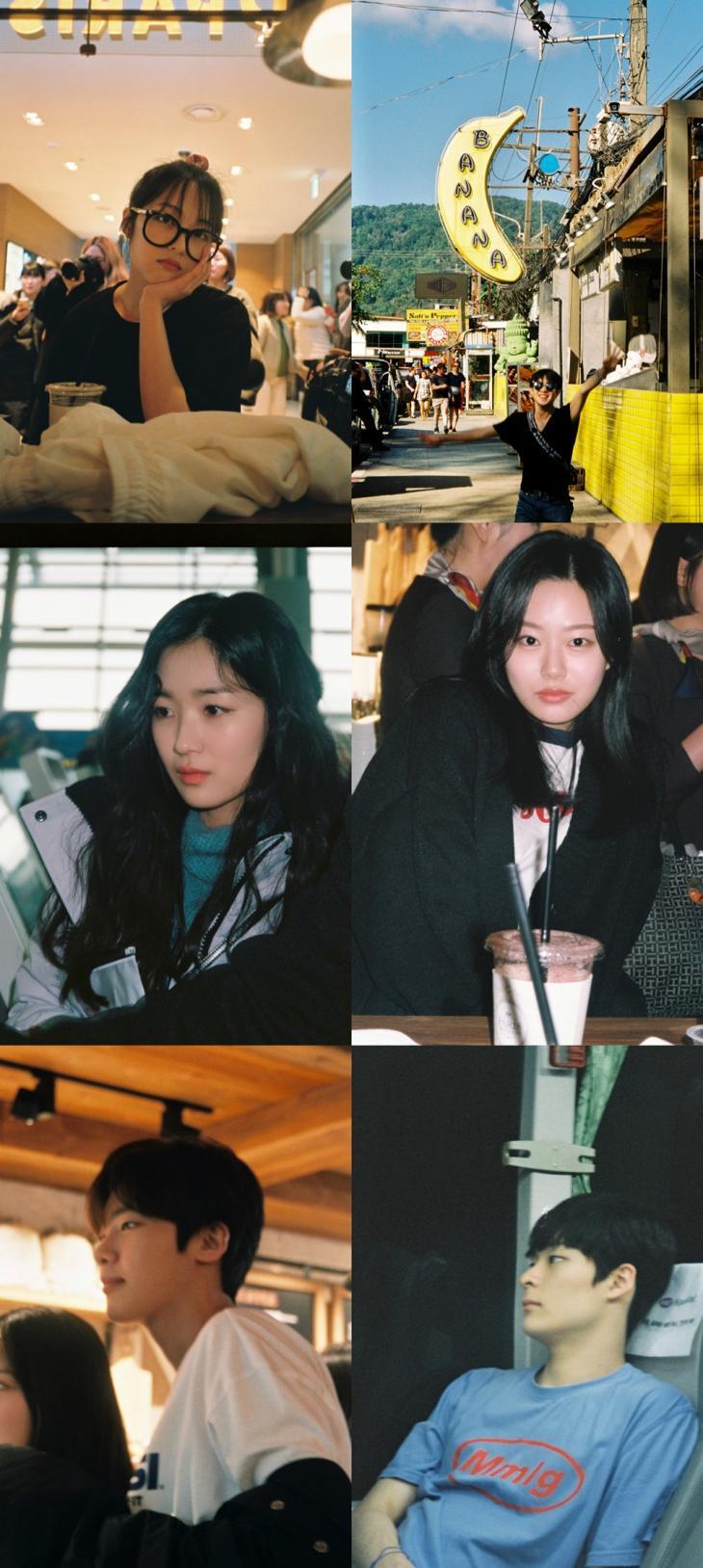 김보라-조병규-김혜윤-박유나-김동희-송건희 / 김보라 블로그