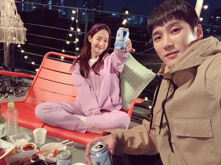 박민영-안보현 / 안보현 인스타그램
