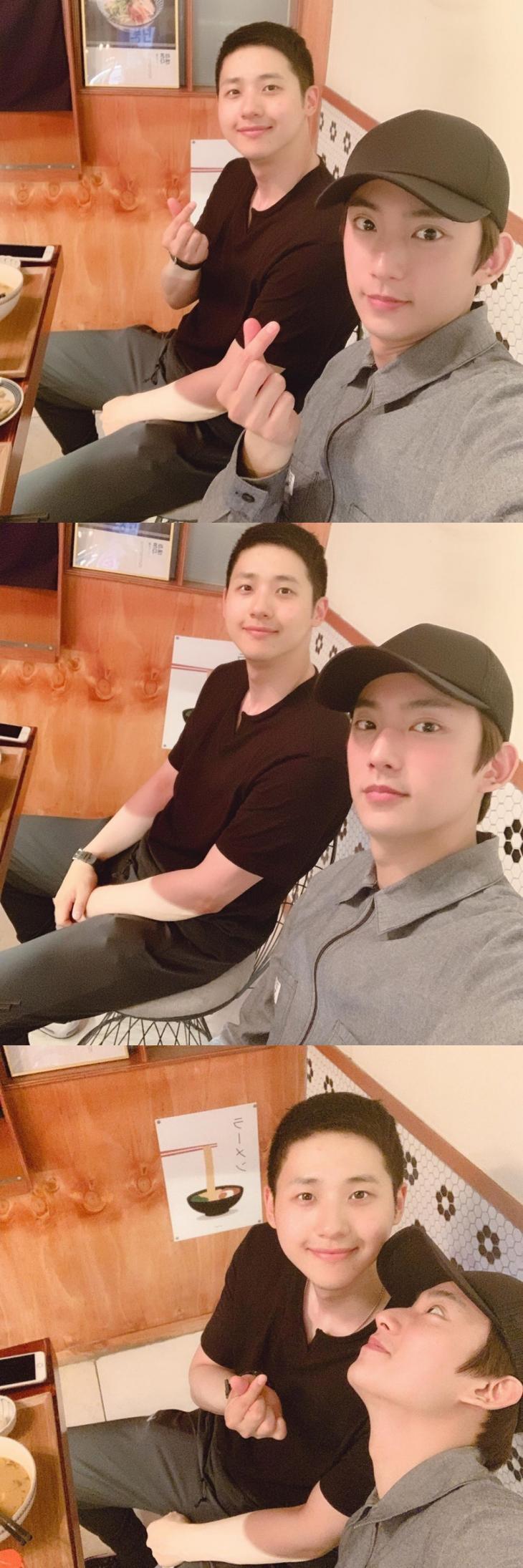 B1A4 신우-공찬 / 신우 인스타그램