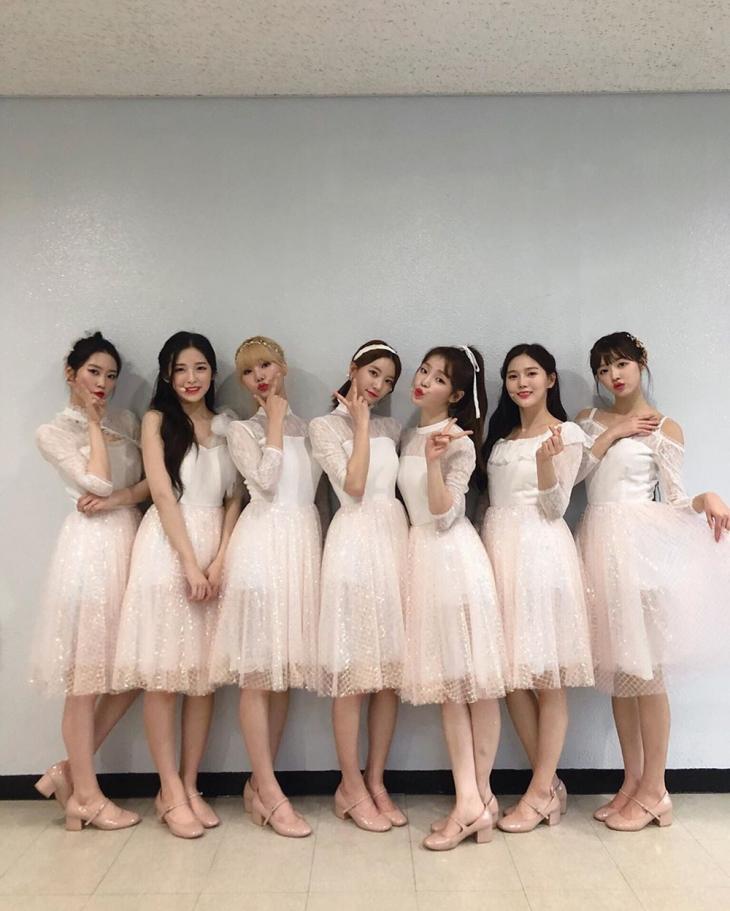 오마이걸 공식 인스타그램