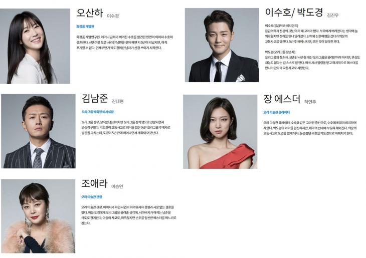 KBS '왼손잡이 아내'홈페이지 사진 캡처