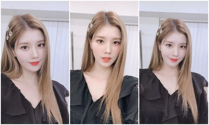 아이즈원 권은비 / 아이즈원 인스타그램