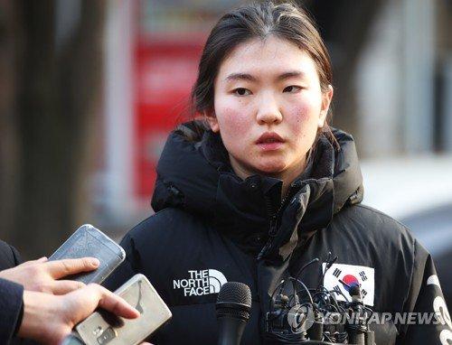 쇼트트랙 국가대표 심석희  / 연합뉴스