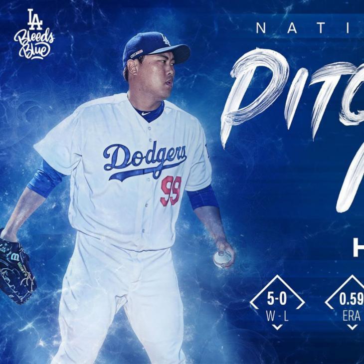 LA 다저스 공식 인스타그램