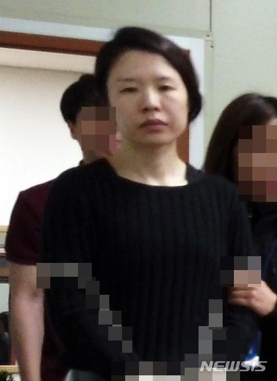 고유정 얼굴공개 / 뉴시스