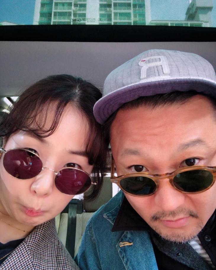 성우 박지윤-정형석 / 박지윤 인스타그램