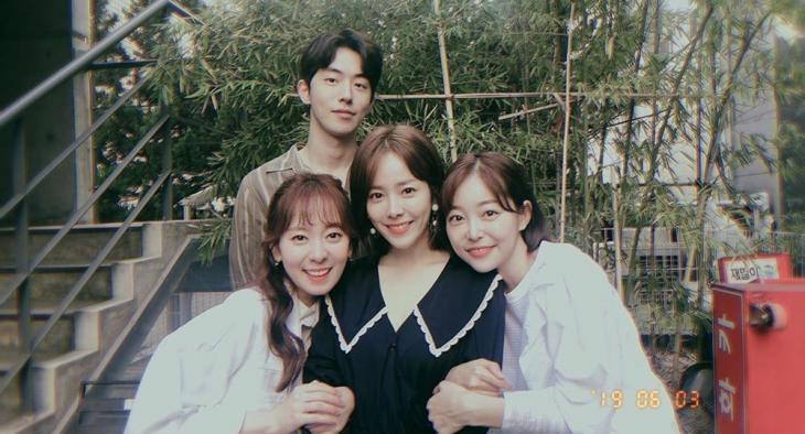 남주혁-송상은-한지민-김가은 / 김가은 SNS
