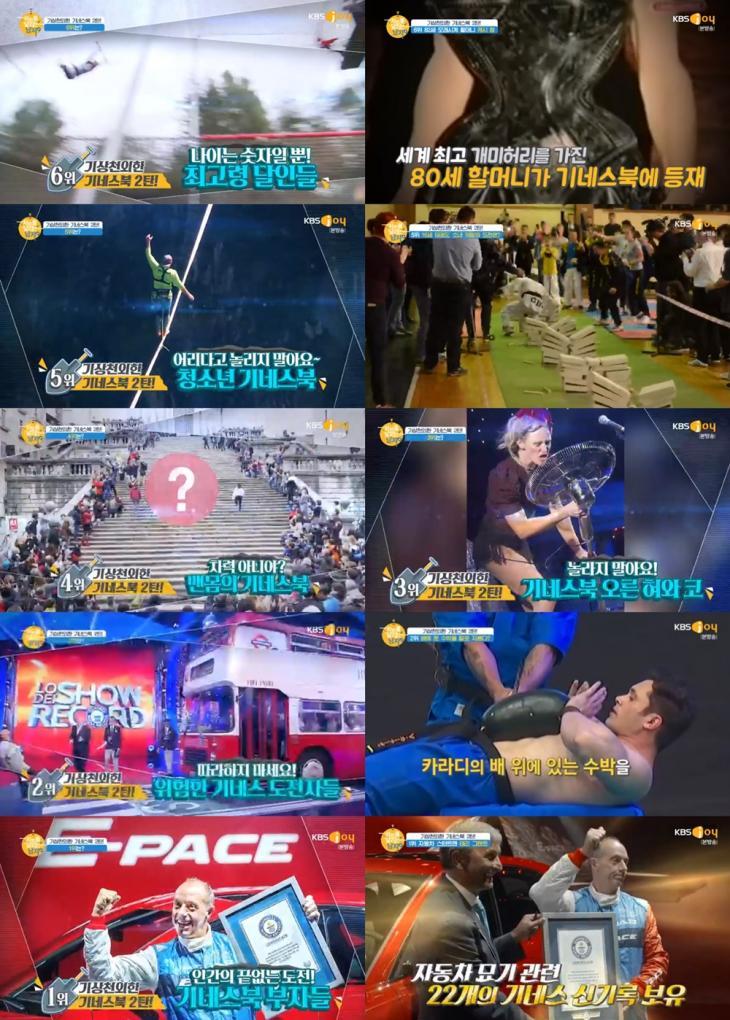 KBS joy '차트를 달리는 남자'방송캡처