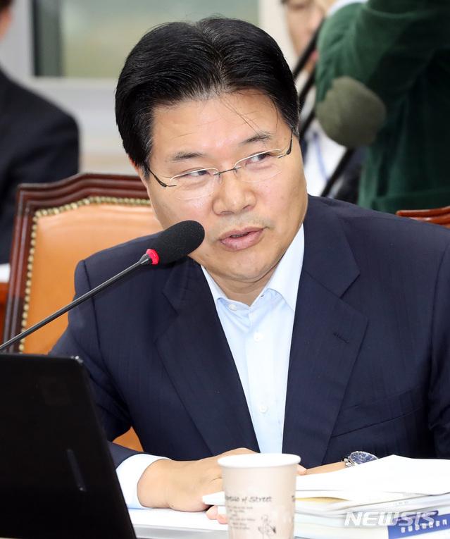 홍문종 자유한국당 의원. 2018.10.23. / 뉴시스