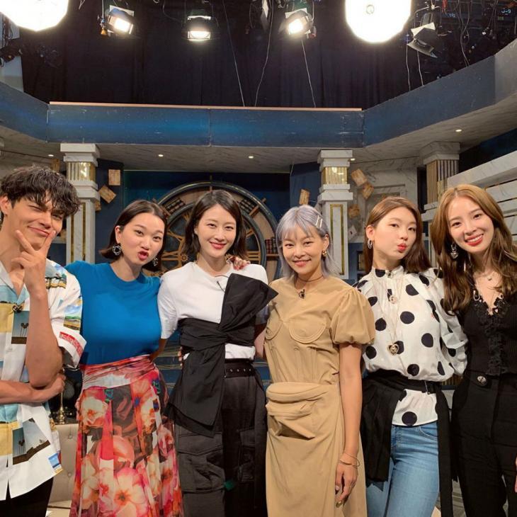 장윤주 인스타그램