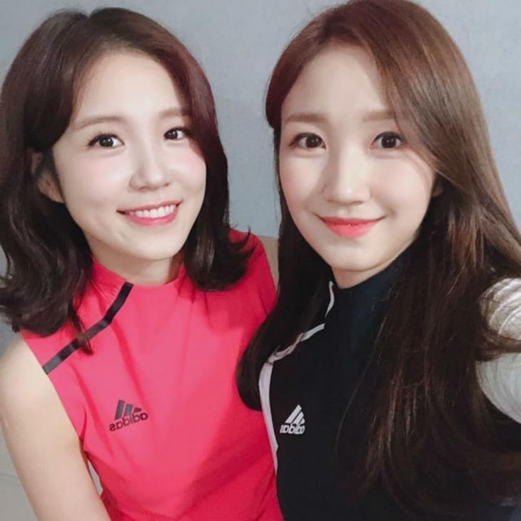 장예원 아나운서-장예인 아나운서 / 장예원 아나운서 인스타그램