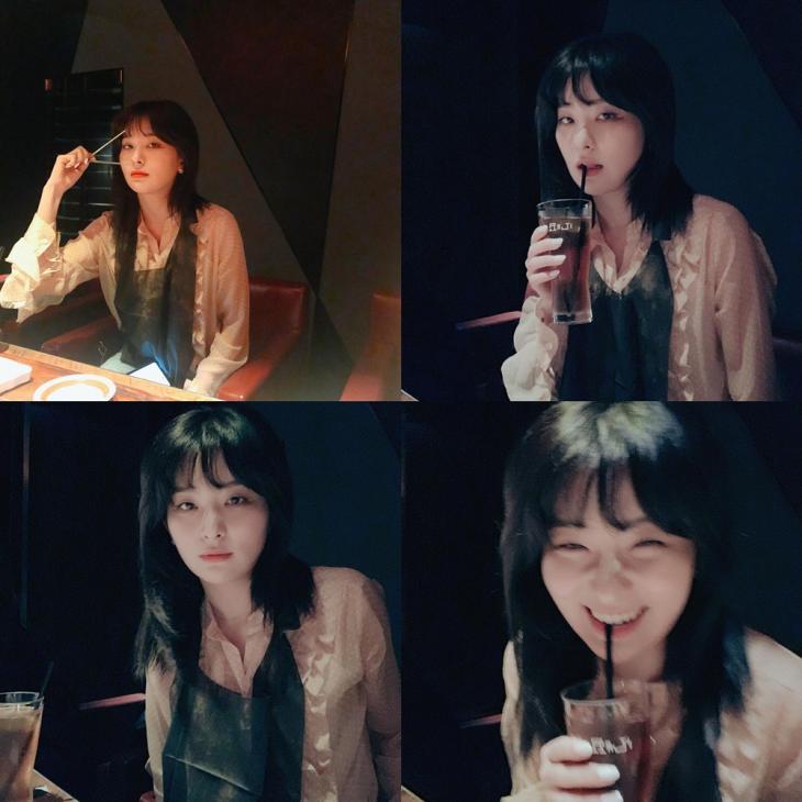 레드벨벳(Red Velvet) 슬기 인스타그램