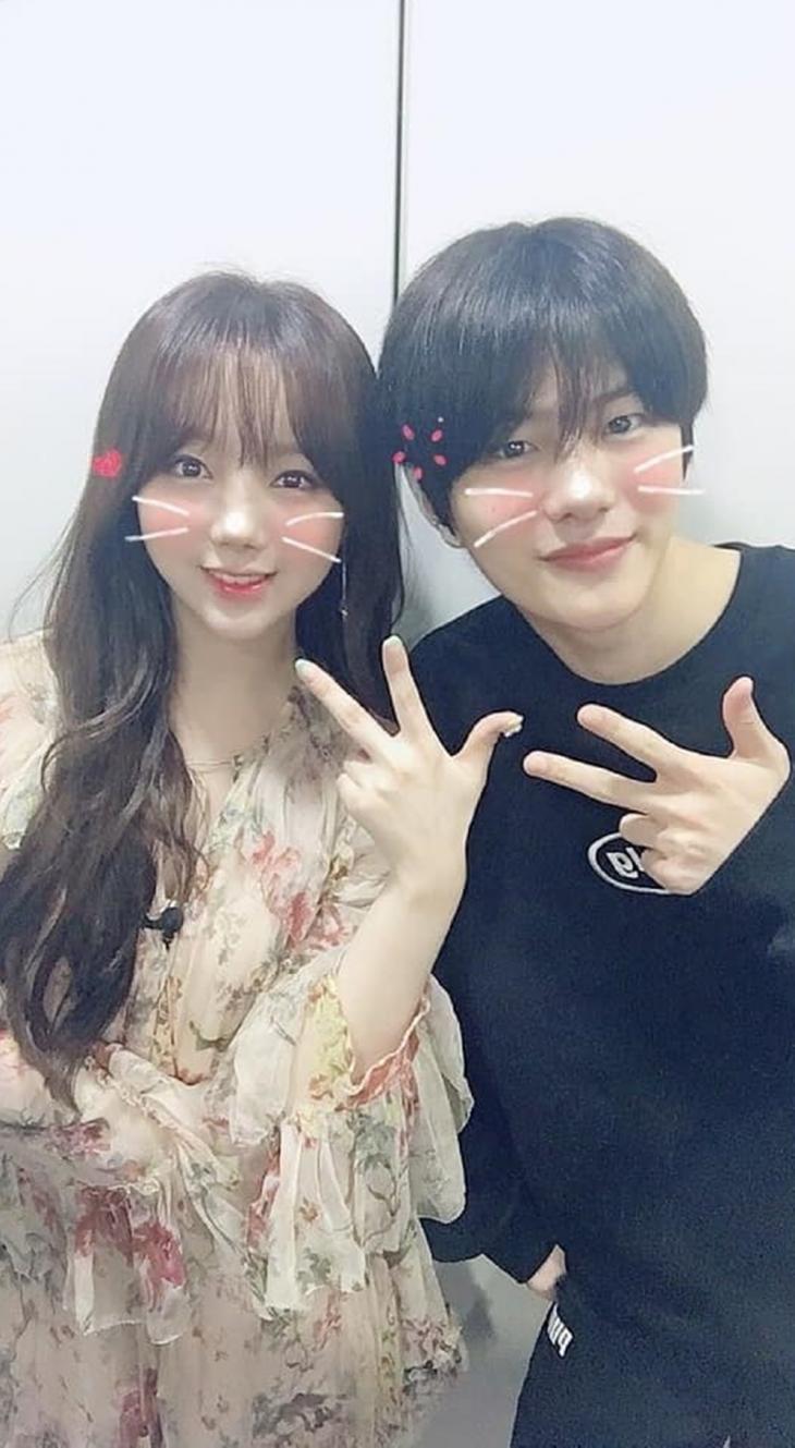 러블리즈 케이-골든차일드 최보민 / 러블리즈 공식 인스타그램