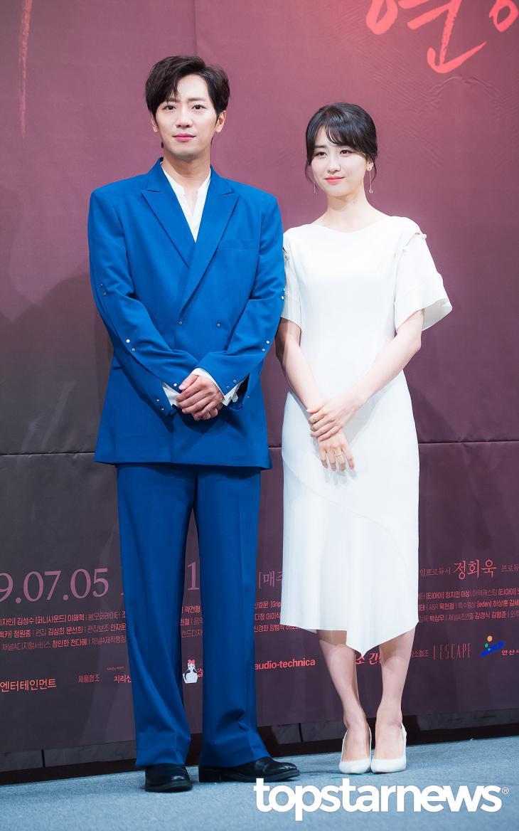 이상엽-박하선 / 서울, 정송이 기자
