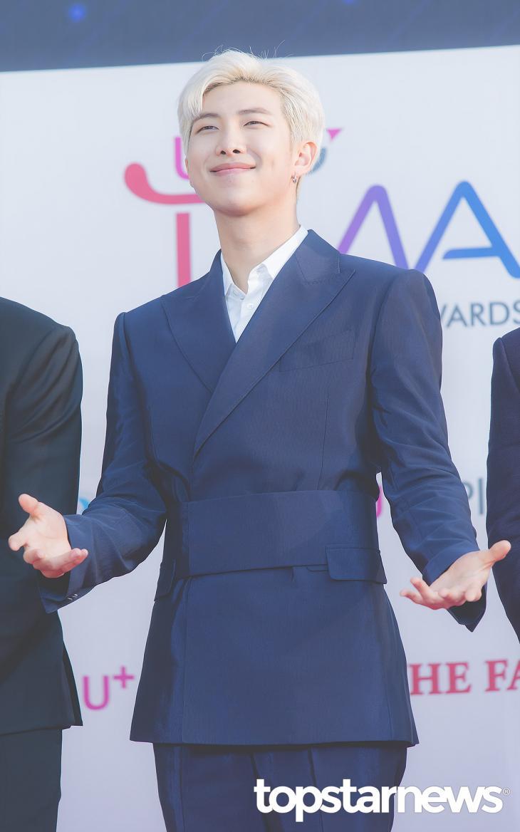 방탄소년단(BTS) RM / 서울, 최규석 기자