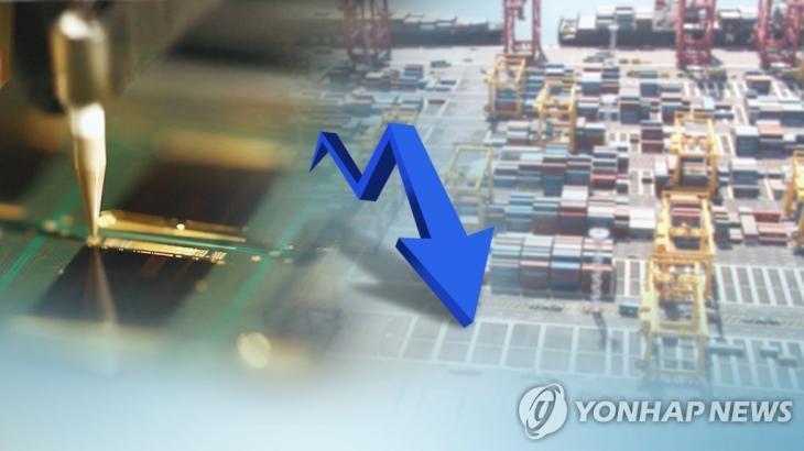 6월 수출입물가 5개월만에 동반하락… (CG) [연합뉴스TV 제공]
