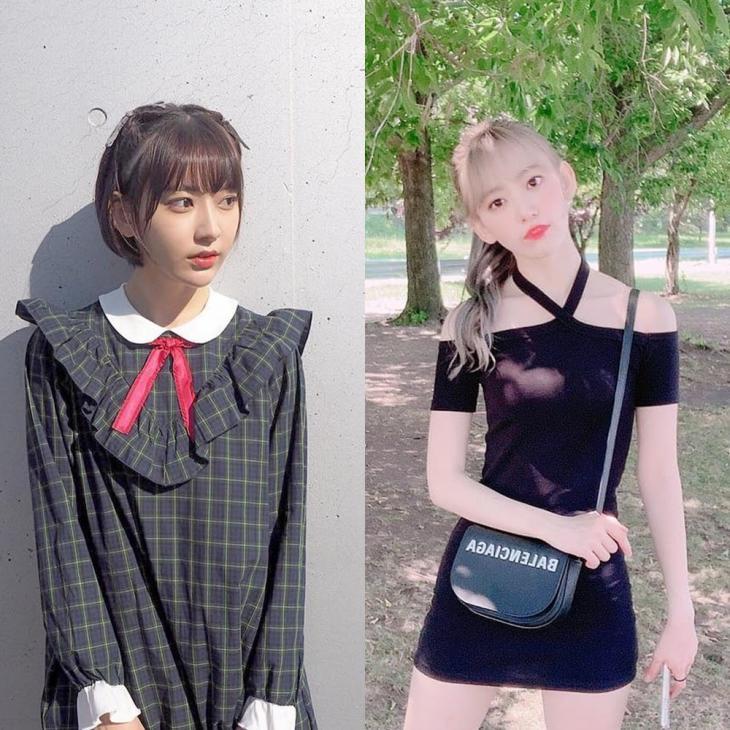미야와키 사쿠라 개인 인스타그램 / 아이즈원 공식 인스타그램