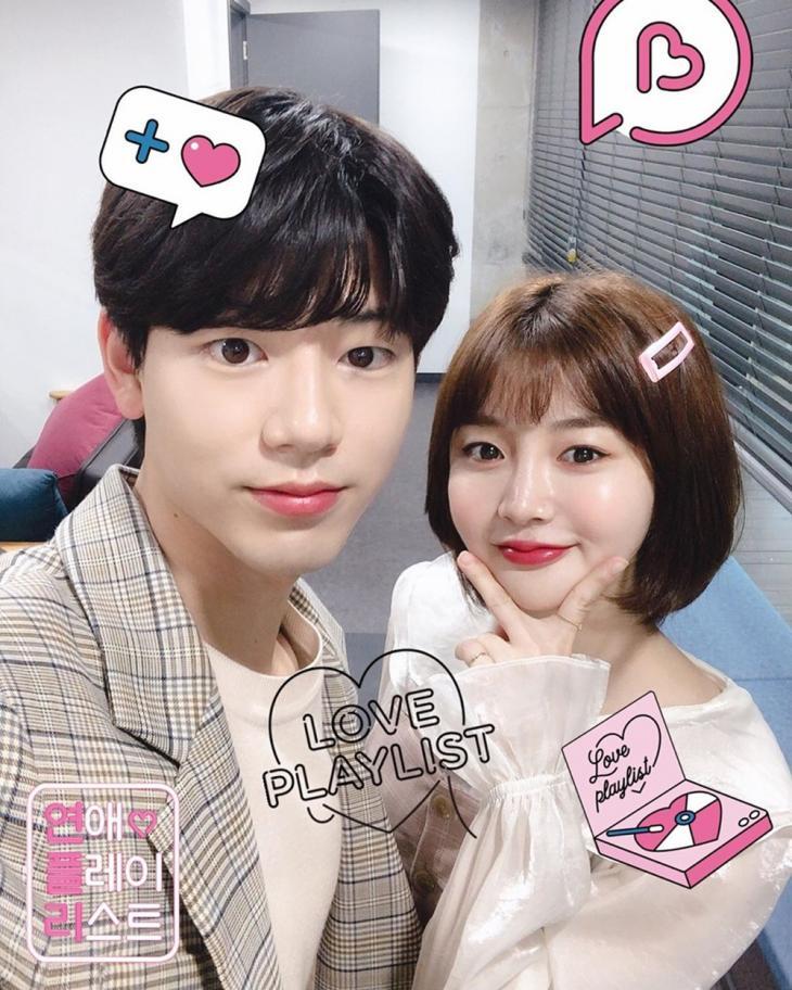 배현성-박시안 / 플레이리스트 공식 인스타그램