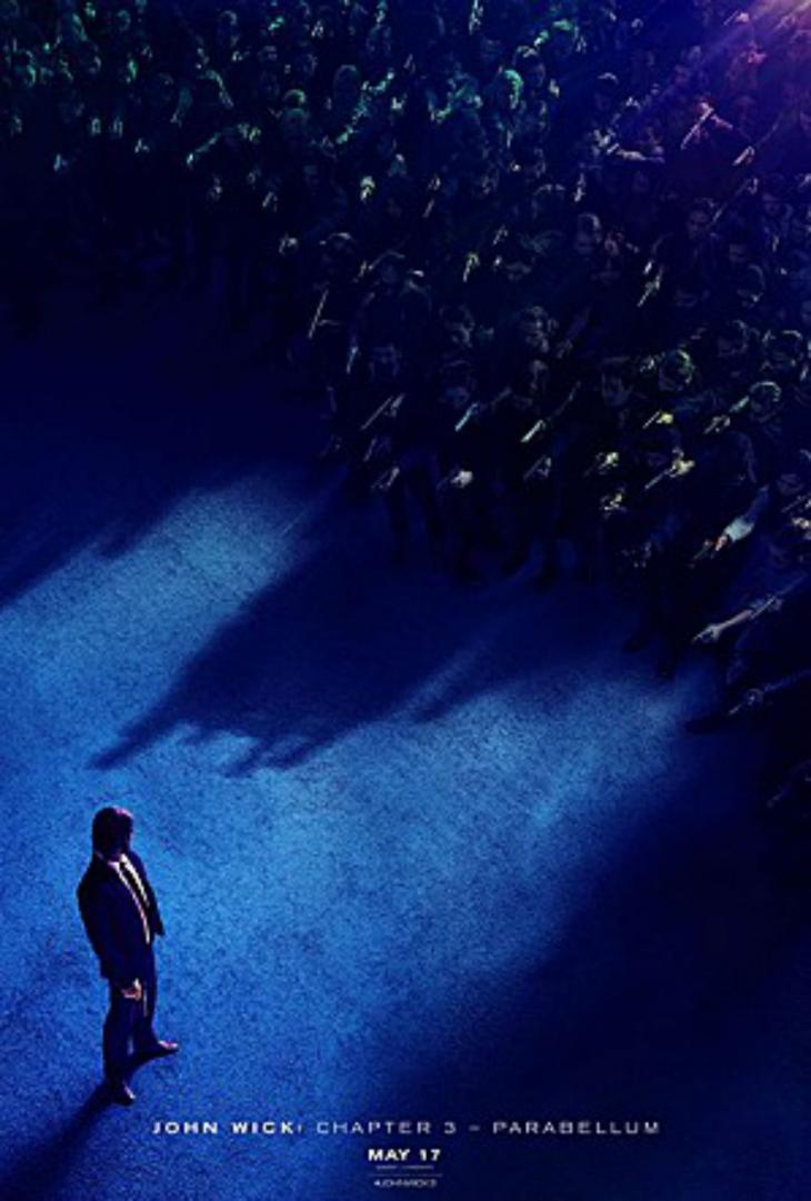 '존 윅 3 : 파라벨룸' 포스터 / 네이버영화
