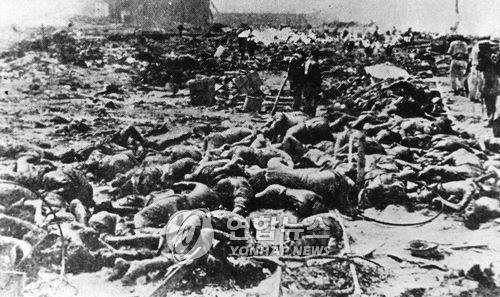 관동대지진 당시 아무 이유없이 학살당한 재일 한인들(연합DB)